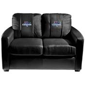 Boston Red Sox MLB Silver Love Seat with 2013 Champs Logo Panel
