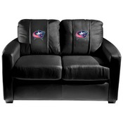 Columbus Blue Jackets NHL Silver Love Seat