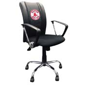 Boston Red Sox MLB Curve Task Chair