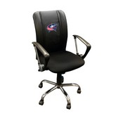 Columbus Blue Jackets NHL Curve Task Chair