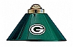 NFL Green Bay Packers Three Shade Billiard lamp,  Pool Table Lamp