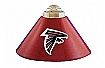 NFL Atlanta Falcons Three Shade Billiard lamp,  Pool Table Lamp