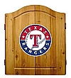 MLB Texas Rangers Dartboard Cabinet Steelers Darts Set Custom  Darts Set