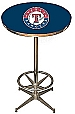 MLB Texas Rangers Pub Table Bar Table Restaurant Table