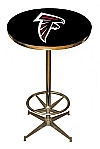 NFL Atlanta Falcons Pub Table Bar Table Restaurant Table