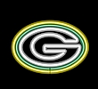 NFL Green Bay Packers Neon Team Logo Sign