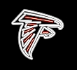 NFL Atlanta Falcons Neon Team Logo Sign
