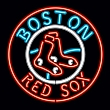 NFL Boston Red Sox Team Logo Sign