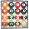 Billiard Pool Ball Set - BIG NUMBER