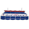 NHL Columbus Blue Jackets Stained Glass 40 inch Lighting Fixture