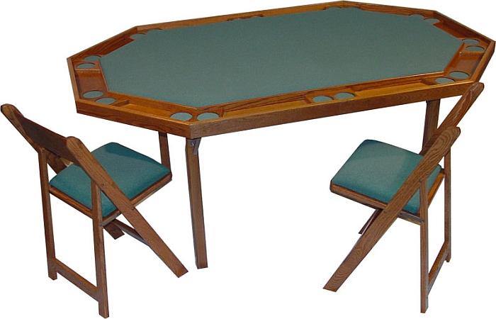 Kestell poker table deluxe folding custom built poker for 10 player folding poker table