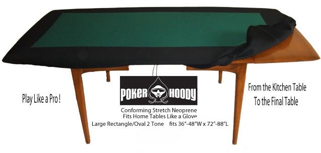 TWO-TONE LG Racetrack Deluxe Poker Hoody Neoprene for Large-sized ...
