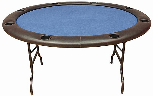 Attractive Fold Legs Round Poker Table Folding Poker Table