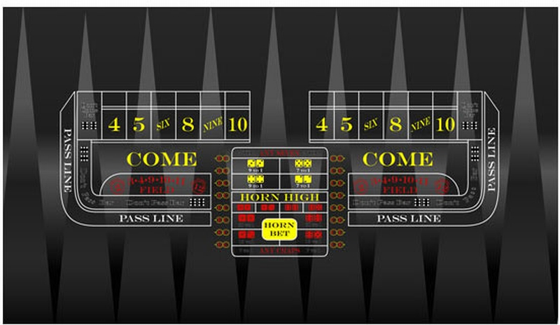 Craps lay buy place