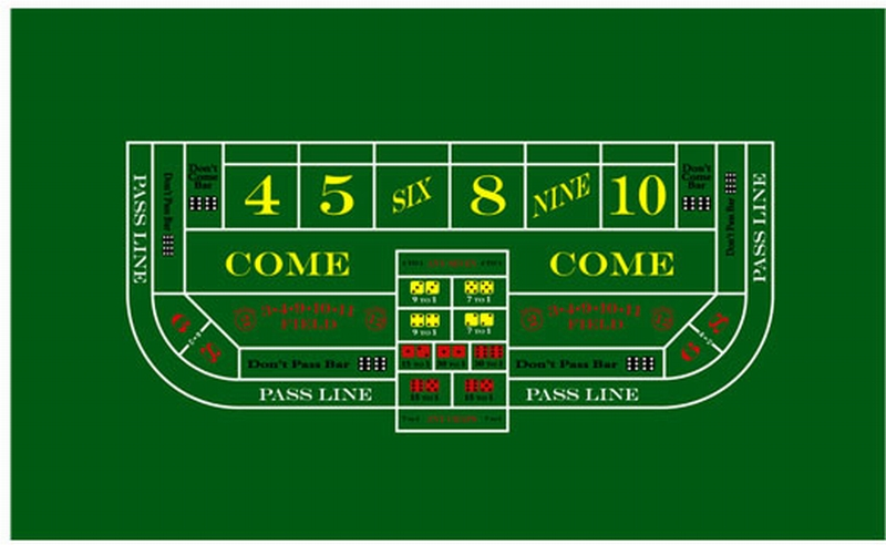 craps table