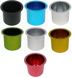 Cup Holder Jumbo Aluminum Pokar Table
