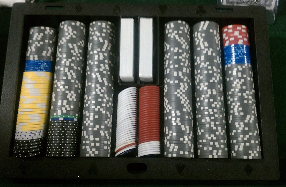 Poker Table Chip Tray