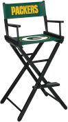 NFL Green Bay Packers sofa Directors Chair - Bar Height bar stool bar chairs gameroom chair