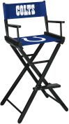 NFL Indianapolis Colts sofa Directors Chair - Bar Height bar stool bar chairs gameroom chair