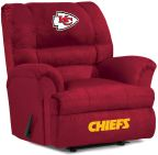 NFL Kansas City Chiefs sofa Big Daddy Recliner Recliners home theater Sofas