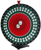 Casino Craps Wheel with Playing Field prize wheel craps wheel