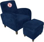 MLB Boston Red Sox sofa Den Chair with Ottoman recliner recliners home theater Sofas