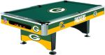 Billiard Table Green NFL Detroit Lions Pool Table