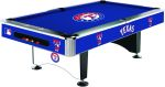 Texas Rangers 8 ft. Billiard Table MLB Texas Rangers Billiard Table