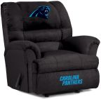 NFL Carolina Panthers sofa Big Daddy Recliner Recliners home theater Sofas
