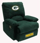 NFL Green Bay Packers sofa Fan Favorite Recliner recliners home theater sofa leather sofas Video Chair