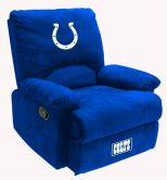 NFL Indianapolis Colts sofa Fan Favorite Recliner recliners home theater sofa leather sofas Video Chair