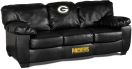 NFL Green Bay Packers Classic Sofa Leather Team Classic Sofa