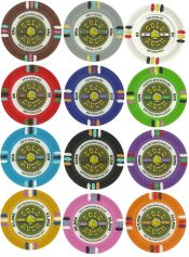 Gold Rush 13.5 Gram Poker Chip Series
