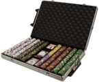 Kings Casino 14 G - Rolling Case Alumin1000 Ct Poker Chips Sets Poker