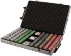 2 Stripe Twist 8 G - Rolling Case 1000 Ct Poker Chips Sets Poker