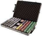 Tournament Pro 11.5G - Rolling Case 1000 Ct Poker Chips Sets Poker
