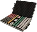 Rolling Case Aluminum Case Standard 1000 Ct Poker Chips Sets Poker