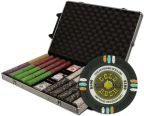 Gold Rush Chip Set in Rolling Case 1000 Ct Poker Chips Sets Poker