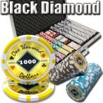 Black Diamond 14 G - Aluminum Case 1000 Ct Poker Chips Sets Poker