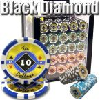 Black Diamond 14 G - Acrylic Case 1000 Ct Poker Chips Sets Poker