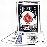 Standard Bicycle Blue White Poker Deck