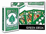 Bicycle Green Deck Poker Cards