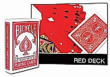 Bicycle Red Deck Poker Cards