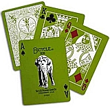 Elephant Deck - Bicycle Cards Green White Poker Cards