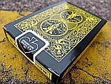 Black Scorpion Deck - Bicycle Cards Black Yellow Poker Cards