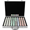 1000 Chip 11.5g HIGH ROLLER Set w/Aluminum Case