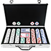 400 Chip 11.5g HIGH ROLLER Set w/Executive Aluminum Case