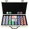 400 11.5G Holdem Poker Chip Set w/Executive Aluminum Case