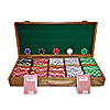 500 11.5 Gram DICE Chips OAK CASE