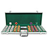 500 Tri-Color Suit Design Set w/Aluminum Case